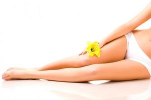 Belles jambes épilées